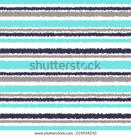 abstract seamless horizontal stripes pattern - stock vector