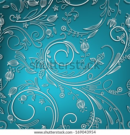 Abstract Seamless Pattern - stock vector