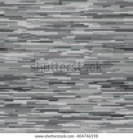 Abstract seamless pattern. Imitation wall tile. Horizontal grey stripes. Editable background for wallpaper, mock ups, backdrop. Vector illustration. EPS10. - stock vector