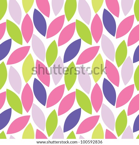 abstract seamless pattern of leaf