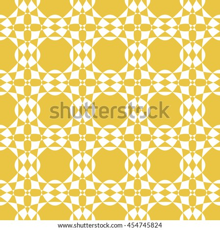 Abstract seamless pattern of yellow color for wallpapers and background.