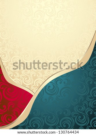 Abstract Seamless pattern or background for advertising something - stock vector