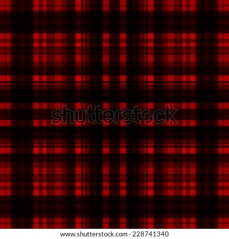 Black Check Fabric Texture Seamless Background Stock Vector 539988520