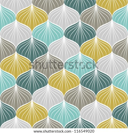 Abstract seamless pattern.Vector illustration - stock vector