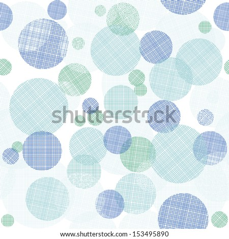 abstract seamless pattern with colorful circles - stock vector