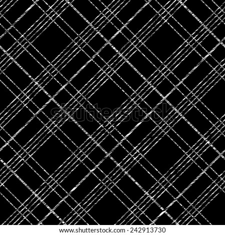 Abstract Seamless Pattern with Plaid Fabric. Simple checkered template. Brush strokes. Pattern fills. Abstract backdrop. Endless vector. Plain checkered background for decoration or backdrop. - stock vector