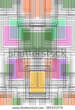 Abstract seamless pattern with squares.
