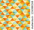 Abstract seamless patternwith triangles. EPS 8 vector illustration. - stock photo