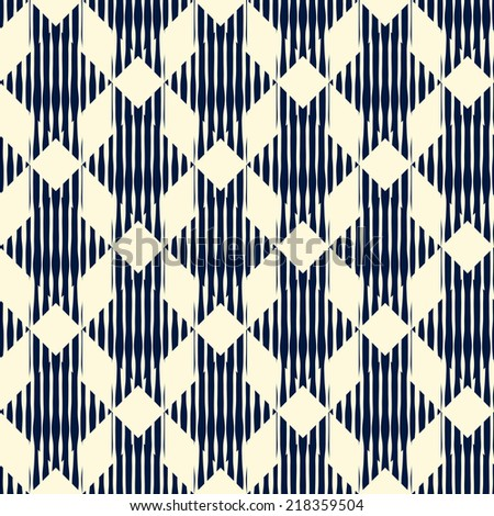 Abstract seamless retro pattern.Vector illustration.  - stock vector