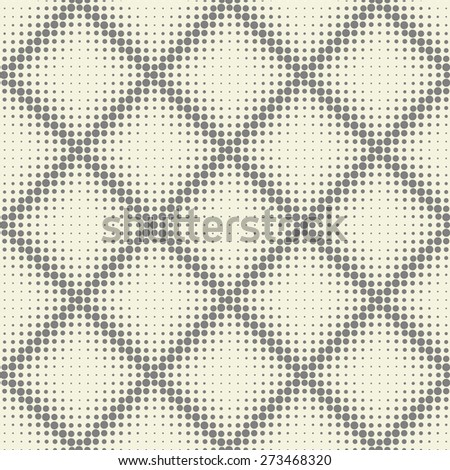 abstract seamless spotty diagonal grid  - stock vector