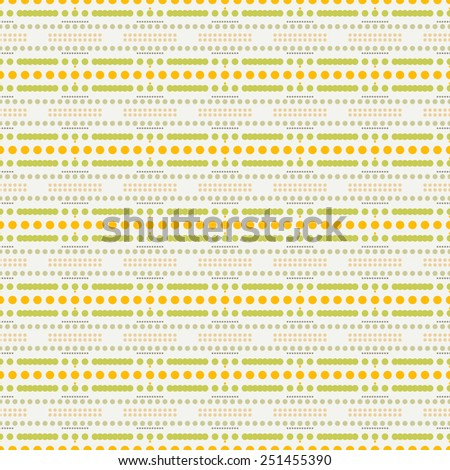 abstract seamless spotty pattern - stock vector