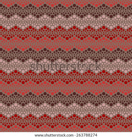 Abstract seamless vector dotted pattern