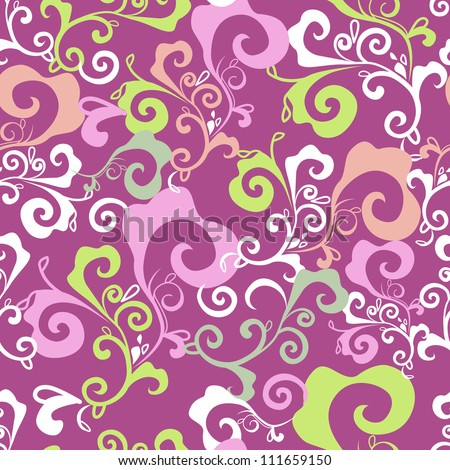 Abstract seamless vector pattern