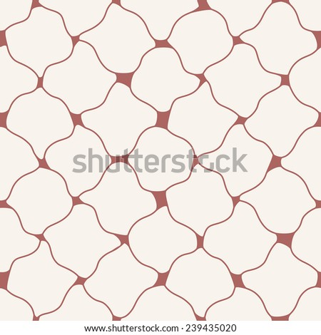 abstract seamless wavy pattern - stock vector