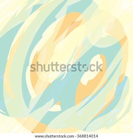 abstract shades pastel brush strokes background and texture, vector design element - stock vector