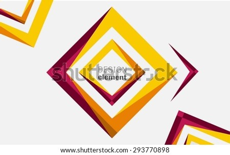 Abstract Shape - stock vector