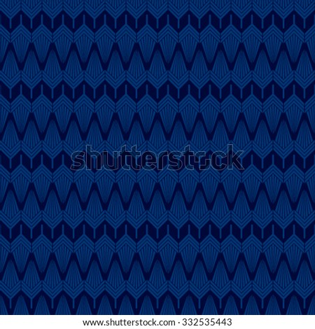 abstract shape design pattern in blue background vector