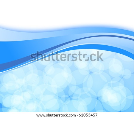 Abstract shimmering light on a card. Vector illustration - stock vector