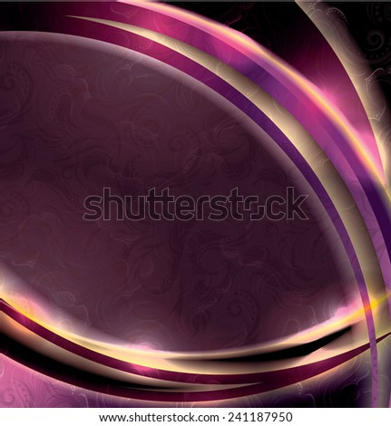 Abstract shine background in luxurious style  - stock vector