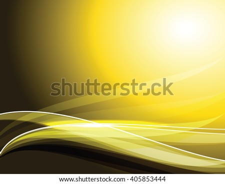 Abstract Shiny Golden Background. Vector Illustration. - stock vector
