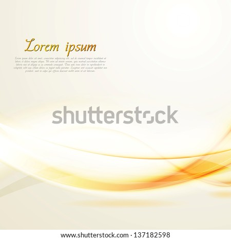 Abstract shiny wavy background. Vector design eps 10 - stock vector