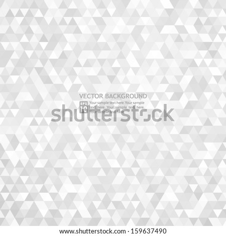 Abstract Silver Background - stock vector