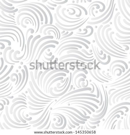 Abstract silver background, seamless pattern - stock vector