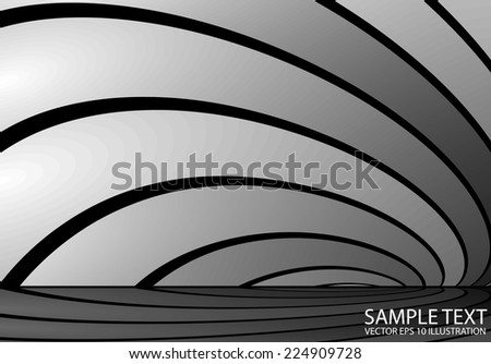 Abstract silver reflected vector background illustration - Abstract metal vector  background reflected illustration - stock vector