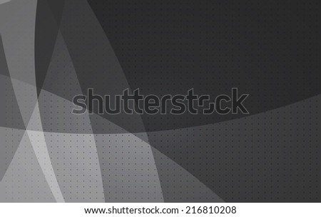 abstract simple grey vector computer technology background - stock vector