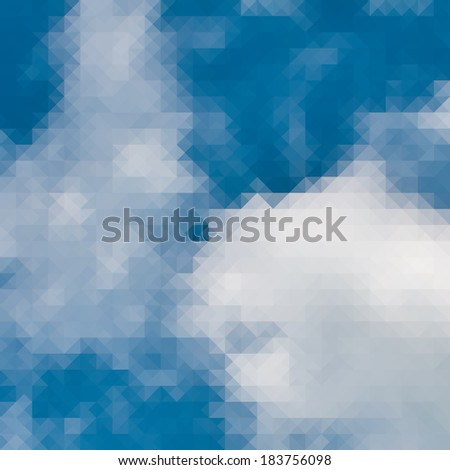 Abstract sky background for design. + EPS10 vector file - stock vector