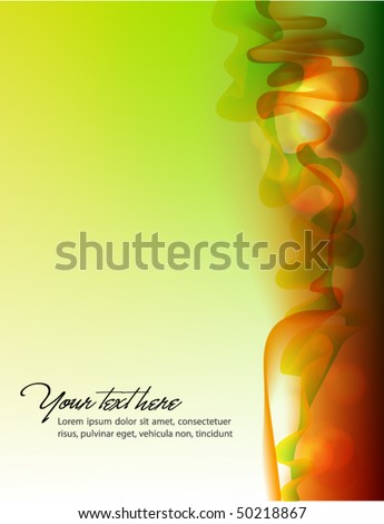 Abstract Smokey vector Background