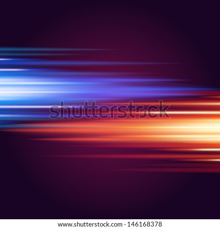 Abstract smooth burn colorful flame fire vector background  - stock vector