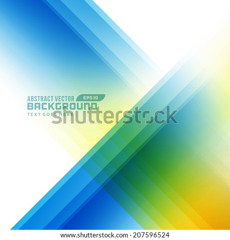 Abstract smooth geometric lines vector background  - stock vector