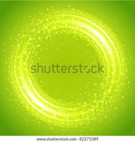 Abstract smooth light circle vector background. Eps 10. - stock vector