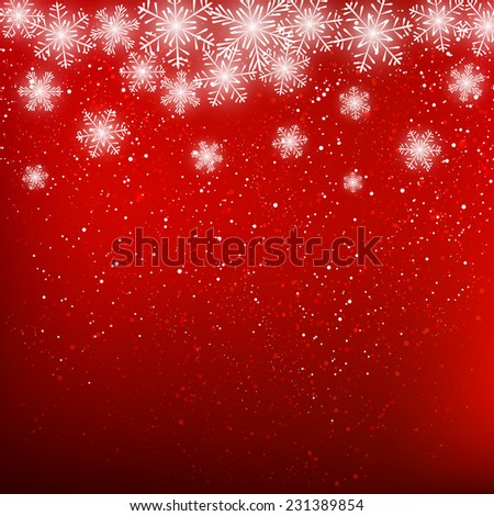 Abstract snowflake background for Your design - stock vector