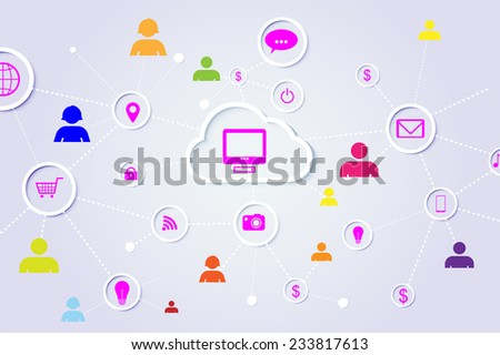 Abstract Social Network elements
