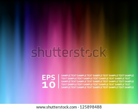 Abstract spectrum background - stock vector