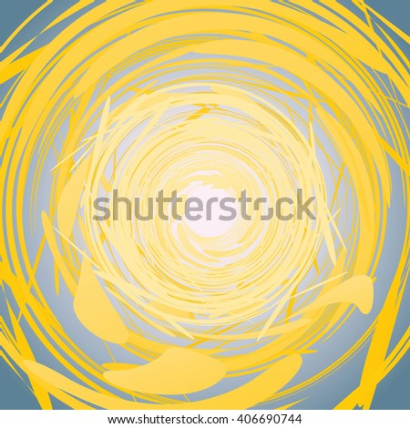 Abstract Spiral vector colourful Illustration. Background design template is well done for Graphic Design,  Party Flyers, Business Presentation, Posters.  - stock vector