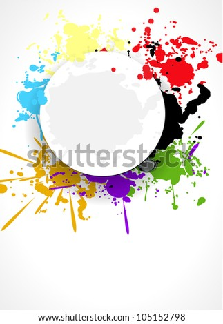 abstract splash background design vector illustration eps