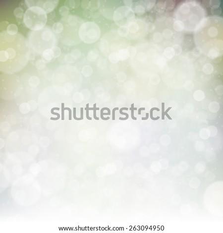 Abstract Spring Bokeh Background - stock vector
