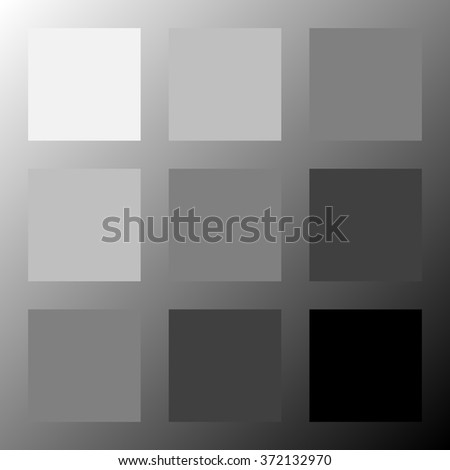 Abstract square background - grey