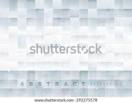Abstract square texture design background. - stock vector