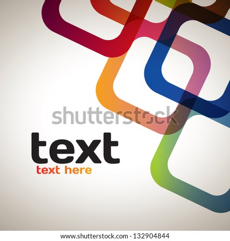 Abstract Squares - stock vector