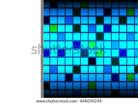 Abstract squares background vector template