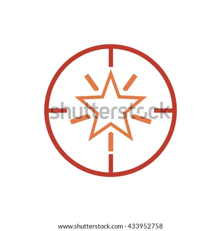Abstract Star for Branding Identity Corporate sign vector unusual logo design template