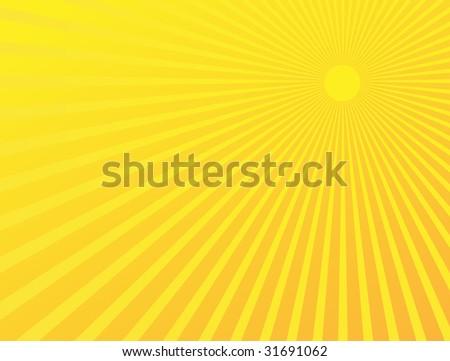 Abstract Starburst Background - Vector - stock vector