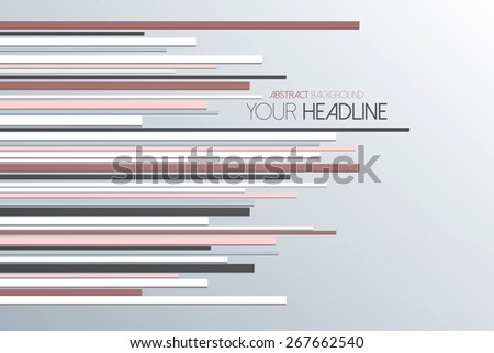 Abstract straight lines background. Can be used for wallpaper, infographics, banner, advertisign. Vector