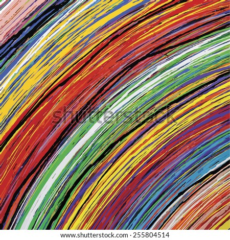 Abstract stripe pattern  - stock vector