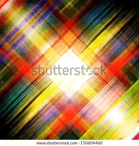 Abstract stripe watercolors : vector - stock vector