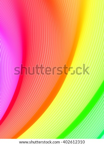 Abstract striped background. Rhythmic lines. Abstract 3d effect. Illusion of three dimensional surface. Vector EPS10 with transparency.  - stock vector